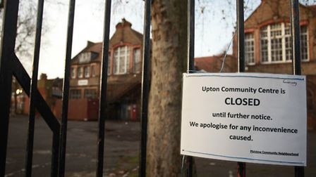 The Upton Centre, Claude Road, was closed just before Christmas