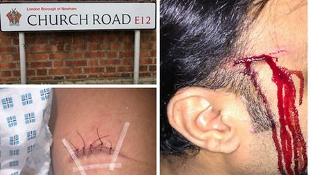 A family is appealing for information after they were attacked on Church Road, Manor Park