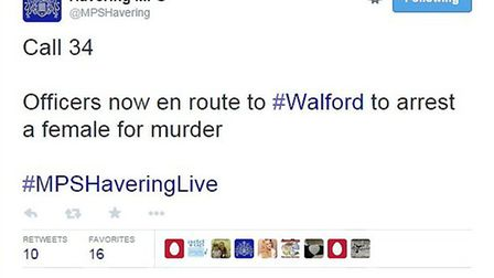 Havering officers posted this