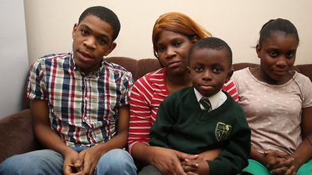 Hundreds of people have signed a petition to stop Newham Council from relocating a family of four to