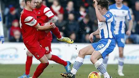 Ryan Hedges made his Leyton Orient debut at Colchester (pic: Simon O'Connor)