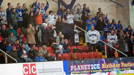London Raiders fans cheered their side to victory at the Isle of Wight (pic: John Scott)
