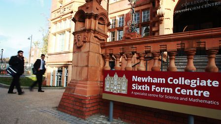 Newham Collegiate Sixth Form Centre is facing a surge in popularity