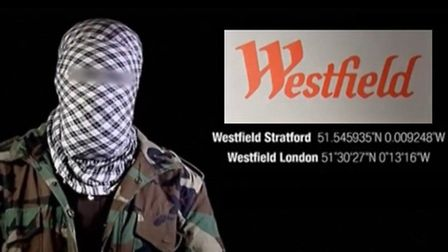 Still from the video released by Al-Shabaab