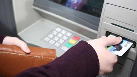 The pair stole bank cards and cash from ATM users
