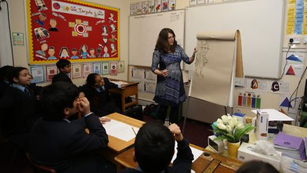 Beano Artist Laura Howell visited Eastcourt Independent School to teach pupils about drawing cartoon