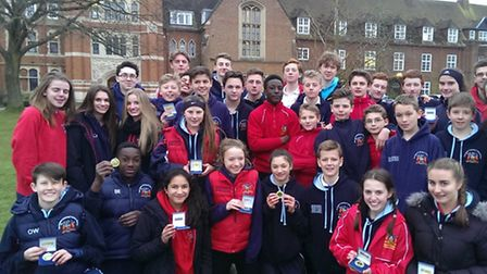 Coopers Coborn had their best ever set of results at the Radley Cross-Country Relays