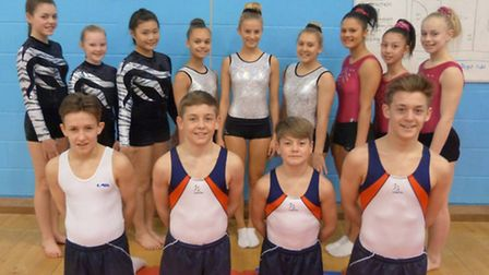 Coopers Coborn will have three of their gymnastics teams at the National finals