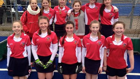 Coopers Coborn's under-13 girls have qualified for the East of England finals