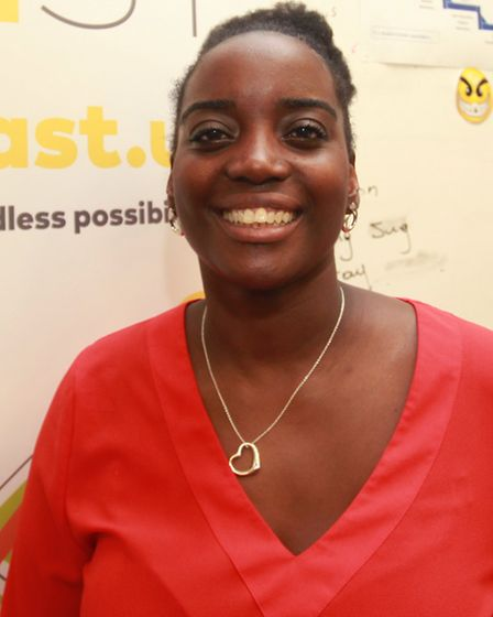 Yvonne Kumi from Share East.