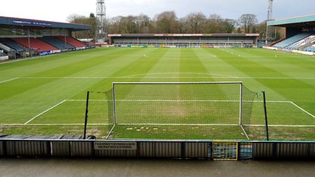 General view of Rochdale's Spotland Stadium. Pic: Dave Howarth/EMPICS Sport