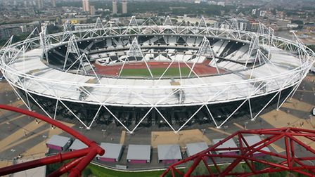 West Ham are due to move into the Olympic Stadium in 2016. Picture: PA Wire