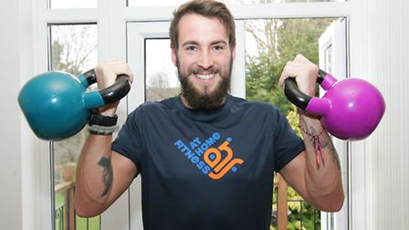 Sean Laidlaw, ex Bomb Disposal Searcher from Hornchurch is setting up an at home fitness business, I