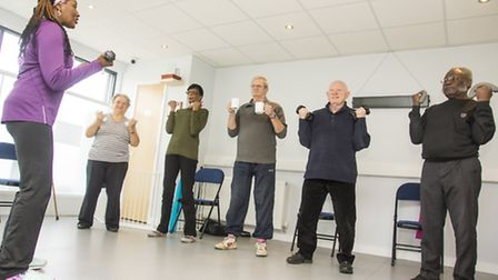 The Goodmayes Residents Association has been putting on keep-fit classes for its older members and w