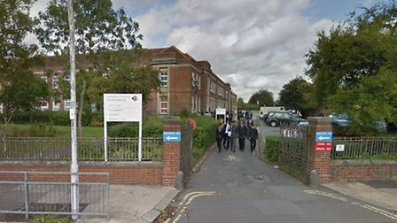 Ilford County High School. Pic: Google Streetview
