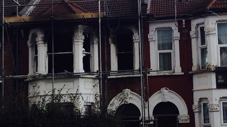 A woman was killed in a flat fire in Forest Gate