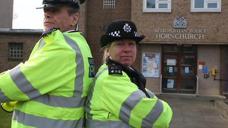 Sgt Ken McNish and ward officer Pc Belinda Goodwin are piloting a scheme called Streetwatch