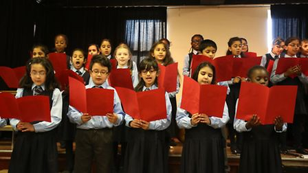 Eastcourt Independent School in Goodmayes held a musical presentation evening which parents and form