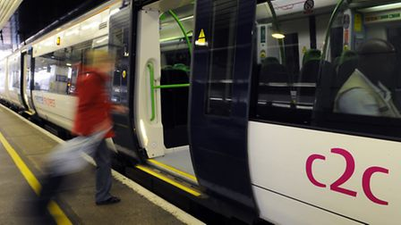 Mums ride for free on c2c trains tomorrow (Pic by c2c trains)