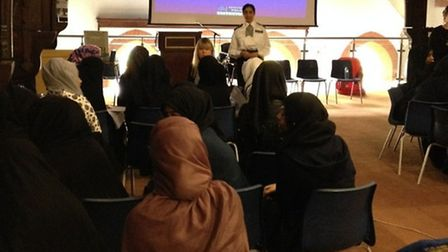 Newham police visited Azhar Academy to speak about online safety