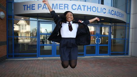 Bridget Okhioigbe, 14, from The Palmer Catholic Academy, has been voted to represent Redbridge at th