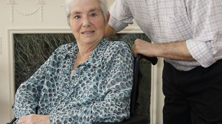 Barry Bates has been a full time carer for his wife Diane, who has multiple sclerosis and is in a wh