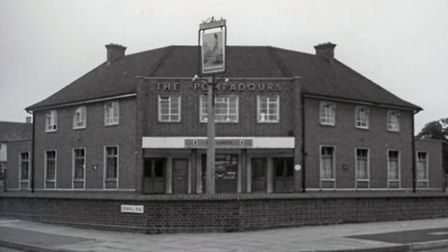 The Pompadours 1967 architect Samuel A.S. Yeo. Credit: Havering Libraries-Local Studies