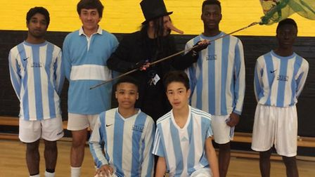 Look out if you're at St Bonaventure's - the child catcher is about!