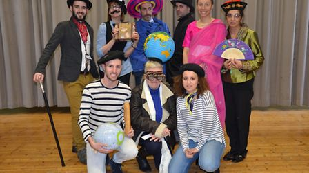 The Modern Foreign Languages department at St Angela's Ursuline went Around the World in 80 Days