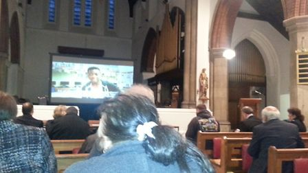 The Ask Me event was hosted by Redbridge Police at St Alban's Church, Ilford