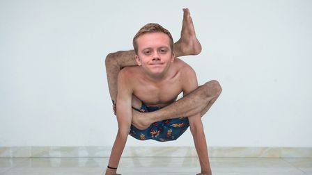 Owen Jones appears to be quite contorted. Picture: GettyImages