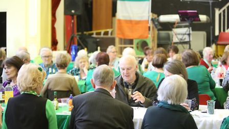 An Irish Tea Dance at Durning Hall in Forest Gate, run by Astons Mansfied that are dedicated to help