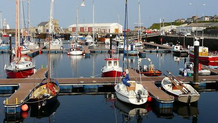 Wick in the far north of Scotland as it is today. When Billy Clarke moved there before World War One
