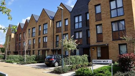 An example of the high quality family homes the council wants to build in Rainham