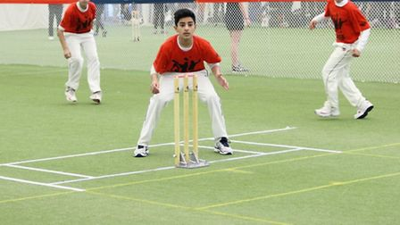Redbridge's boys in London Youth Games cricket finals action at Lord's