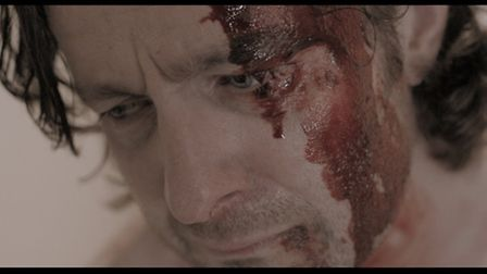 Peter Ferdinando as Michael Logan, engulfed by the corruption he is supposed to stop (Pic supplied b