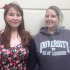 Tarryn Scott, 21 and her sister Lavinia, 23 are full time carers for their mother, who has multiple