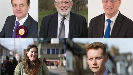 Parliamentary candidates for Romford