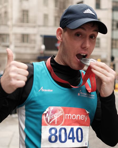 Bobby Wooster celebrated his birthday by running the London Marathon