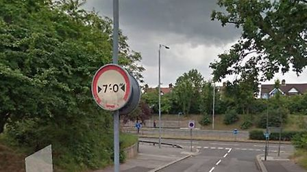 Woodford Avenue at the junction with Lord Avenue, where the crash happened. Pic: Google Streetview