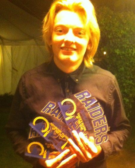 Jacob Ranson won the Supporters', Players' and Coaches Player of the Year awards for London Raiders