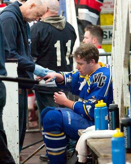 Jack Cooper was named Newcomer of the Year for London Raiders (pic: John Scott)