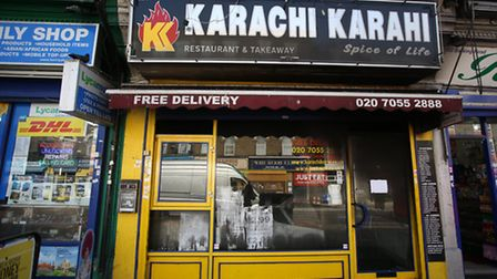 Karachi Karahi on Barking Road in Plaistow which was damaged by a fire