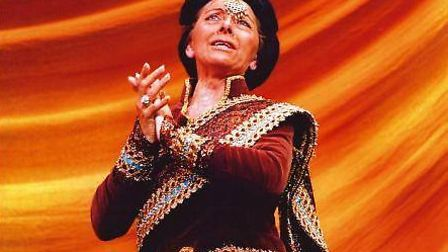 Hilda Hooper in the King & I Photo credit: Kenneth More Theatre