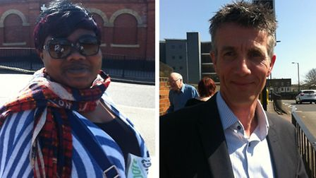 Marianne Nkusu (Left) and Terry Gibbs (Right)