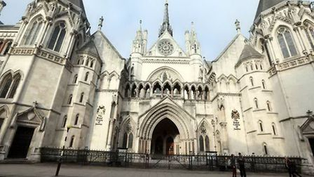 Scene of the action: Royal Courts of Justice. File picture: PA Wire