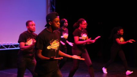 Newham dance and drama group Chromatic performed at the conference