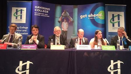 Recorder Question Time - the panel