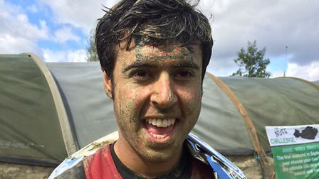 Anees Ikramullah after completing his Nuts Challenge last month