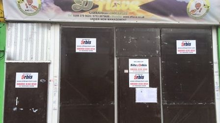 D'Flava takeaway in Stratford served with a closure notice